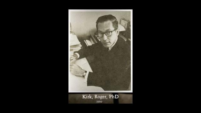 Roger Kirk 1958