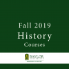 Fall 2019 History Courses Brochure
