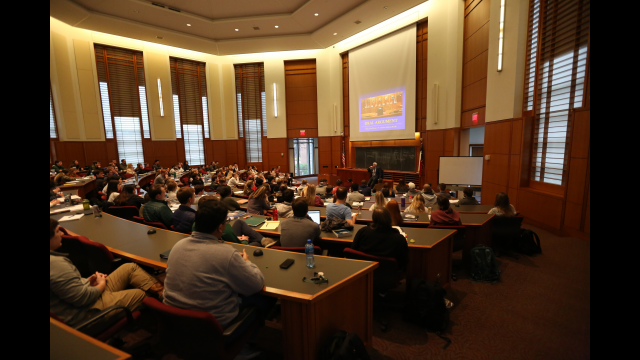 Full-Size Image: Baylor Law Kronzer Appellate Advocacy Courtroom