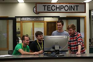 TechPoint desk