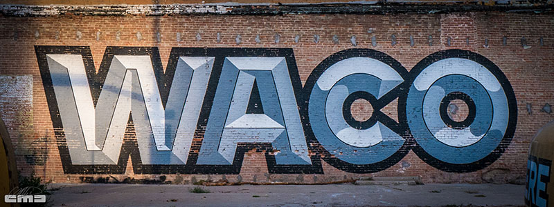 WACO graffiti by WW_History_1060967 by Mike Davis
