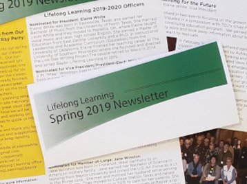 Lifelong Learning Newsletter
