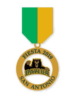 Fiesta 2019 Baylor Commemorative Medal