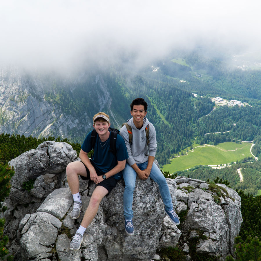 Kehlsteinhaus, Austria, Jon Davis // Baylor Business in Europe