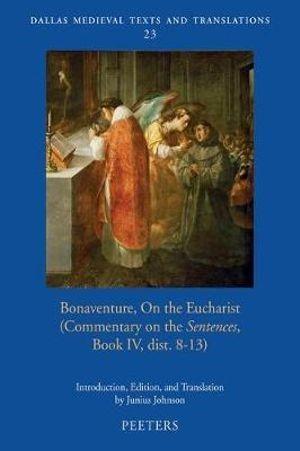 Bonaventure, On the Eucharist graphic
