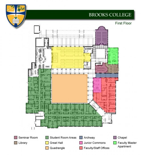 Brooks College - Overview Map