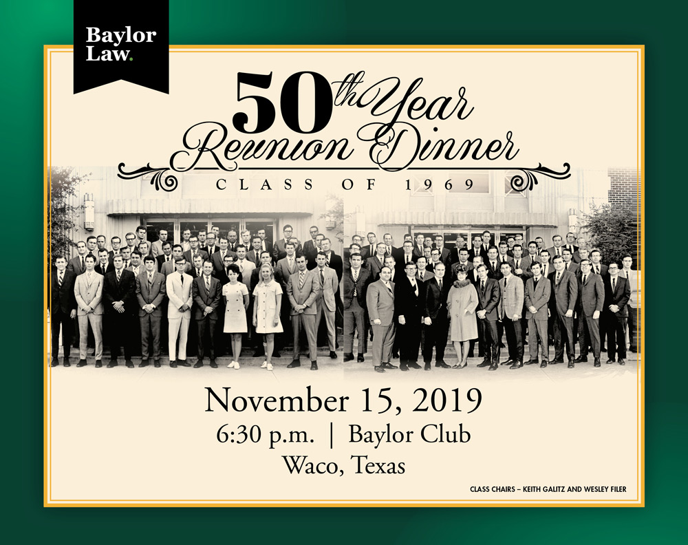 Baylor Law 50th Reunion