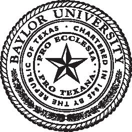Baylor University Presidential Seal