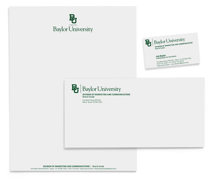 Official Baylor Stationary