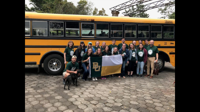 Full-Size Image: BU students in Costa Rica 2019