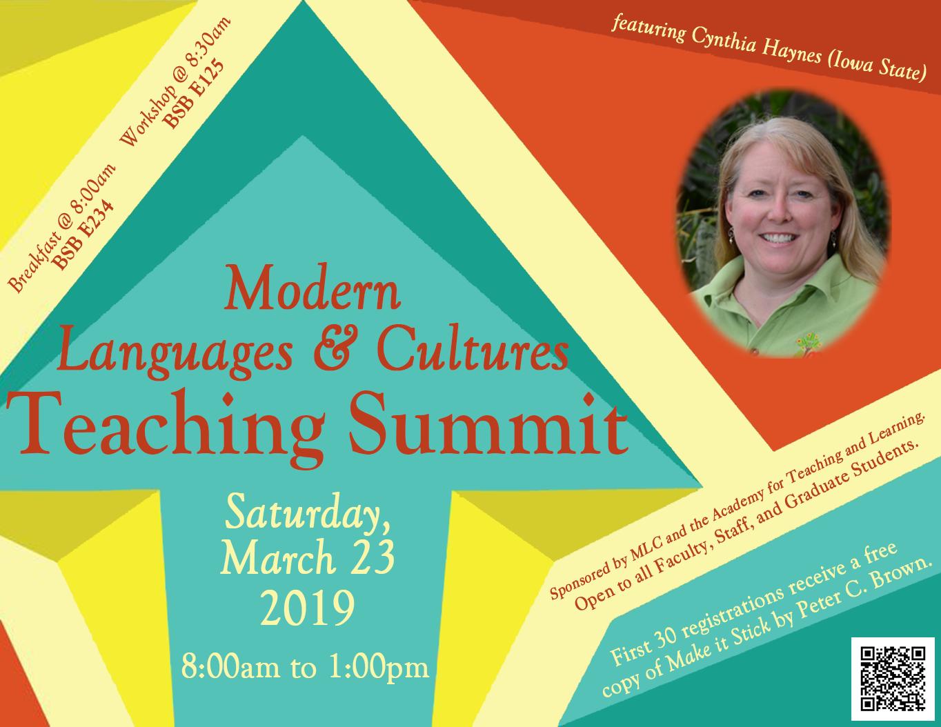 Flyer: MLC Teaching Summit 2019-03-23