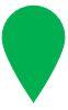 Green map pin
