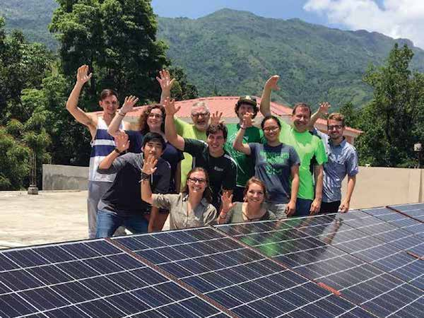 Baylor Engineering Students in Haiti