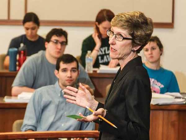 Baylor Law Professor Elizabeth Miller