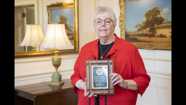 Gaynor Yancey Smith Professor of Year 2019