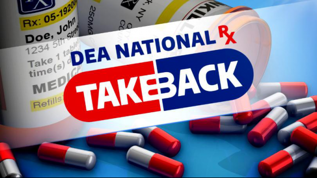 Baylor Police Department Will Participate in National Drug Take-Back Day