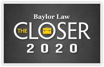 Banner Announcing The Closer for 2020