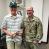 COL (R) Jon VanValkenburg, PhD, Visits Army-Baylor Program