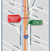 Important I-35 Update: Full Mainlane, Frontage Road Closures May 28-June 1 for Pedestrian Bridge Removal