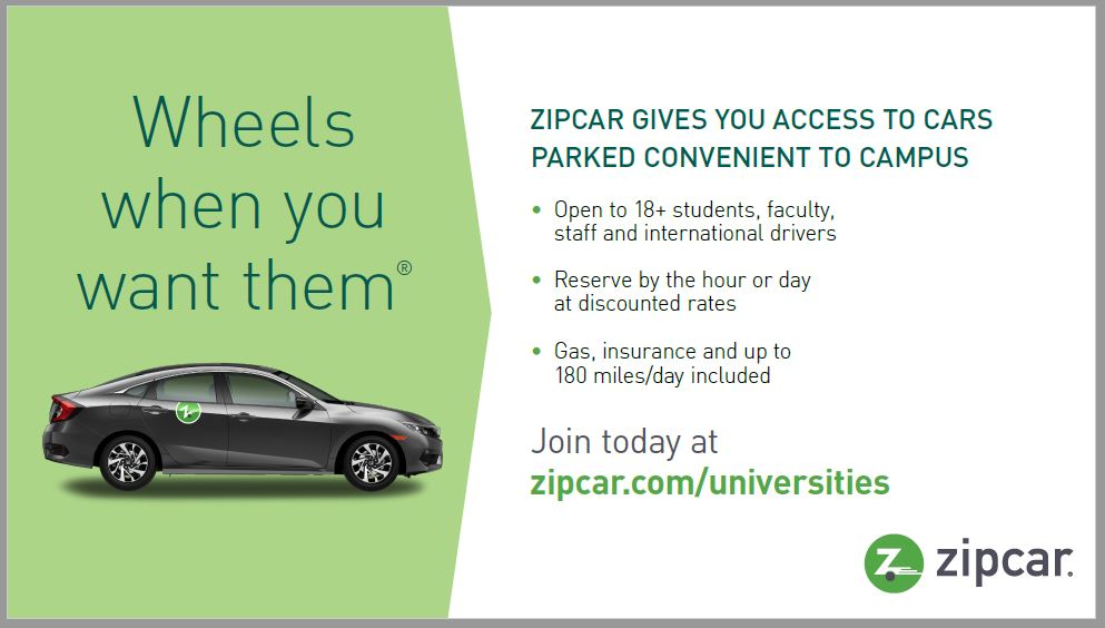Zipcar Department Of Public Safety Baylor University