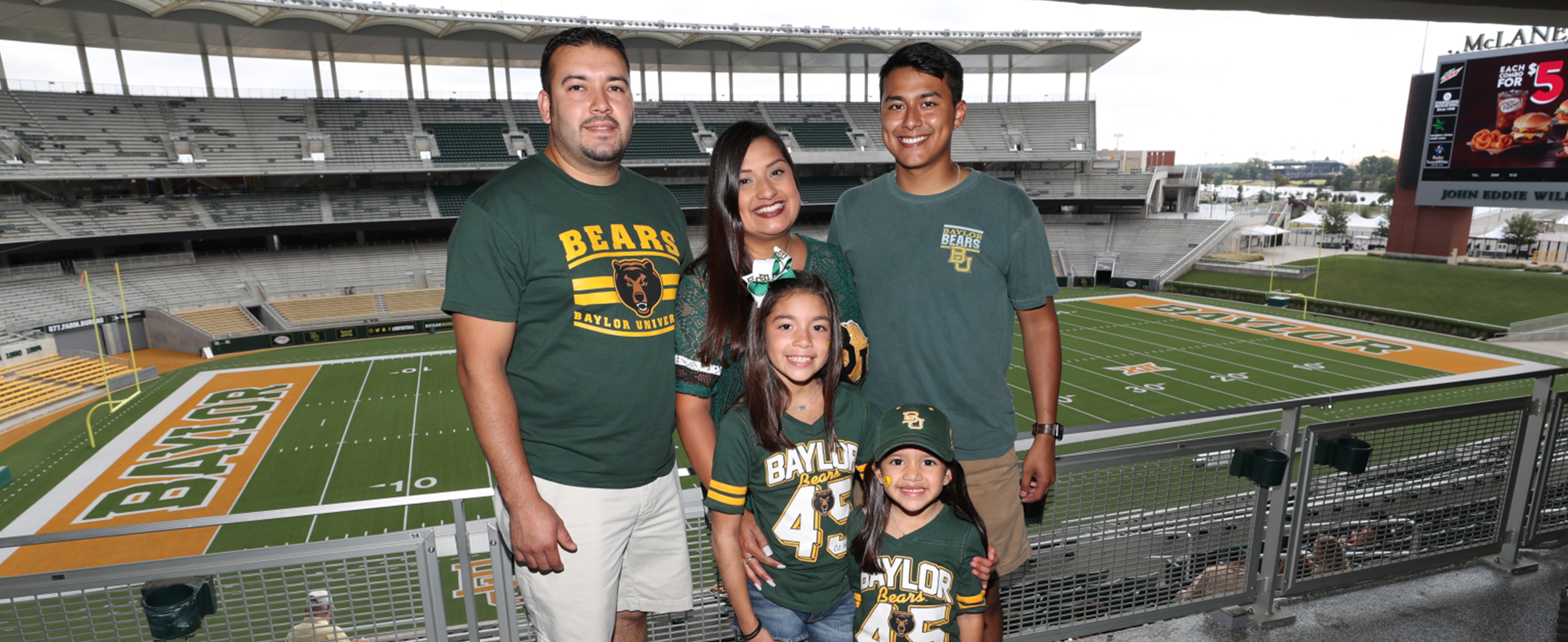 Baylor Bears at the Stadium