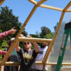 Baylor Students, Faculty Create Greenhouse, Outdoor Learning Space at Local Elementary School