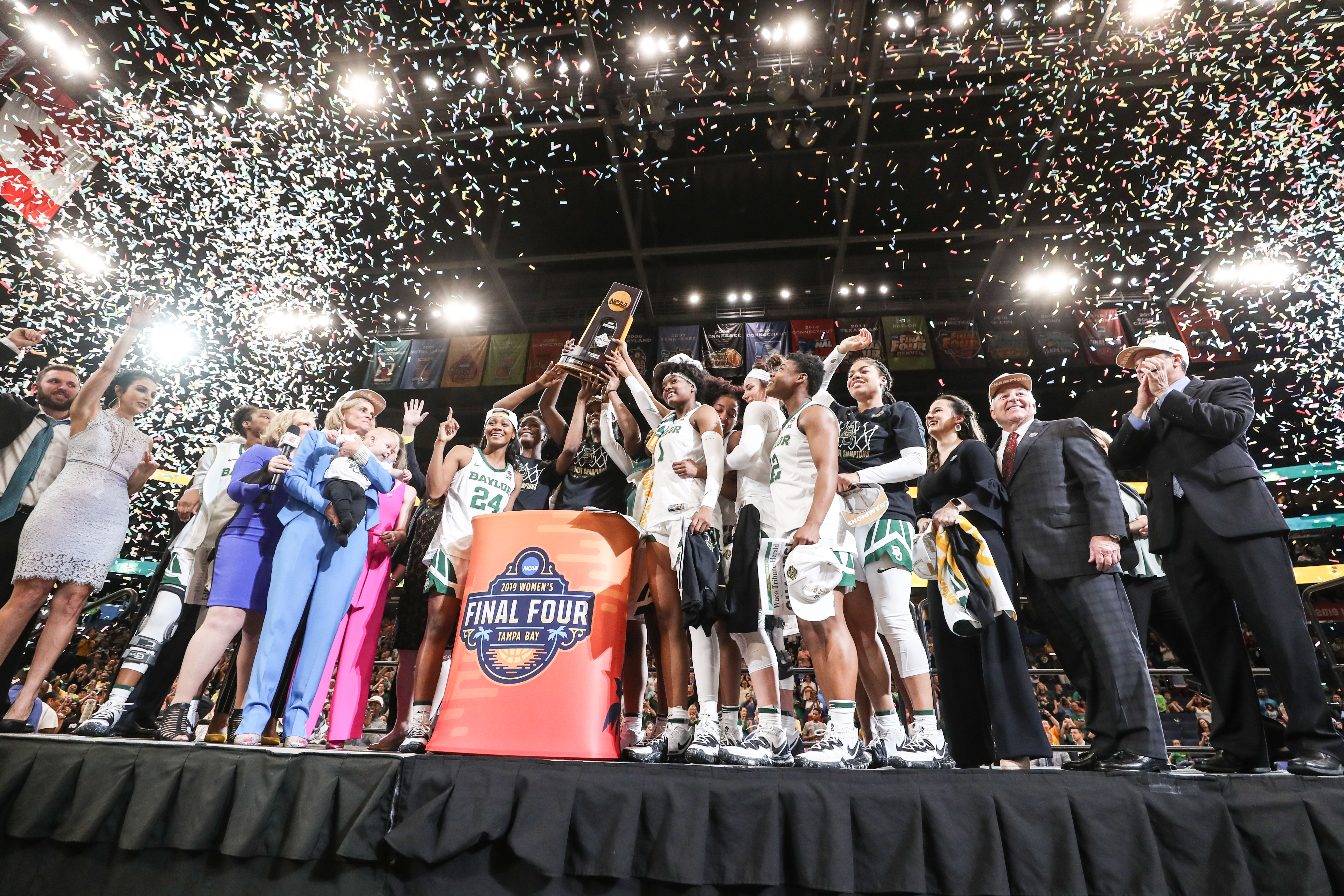 Lady Bears Win Third National Title