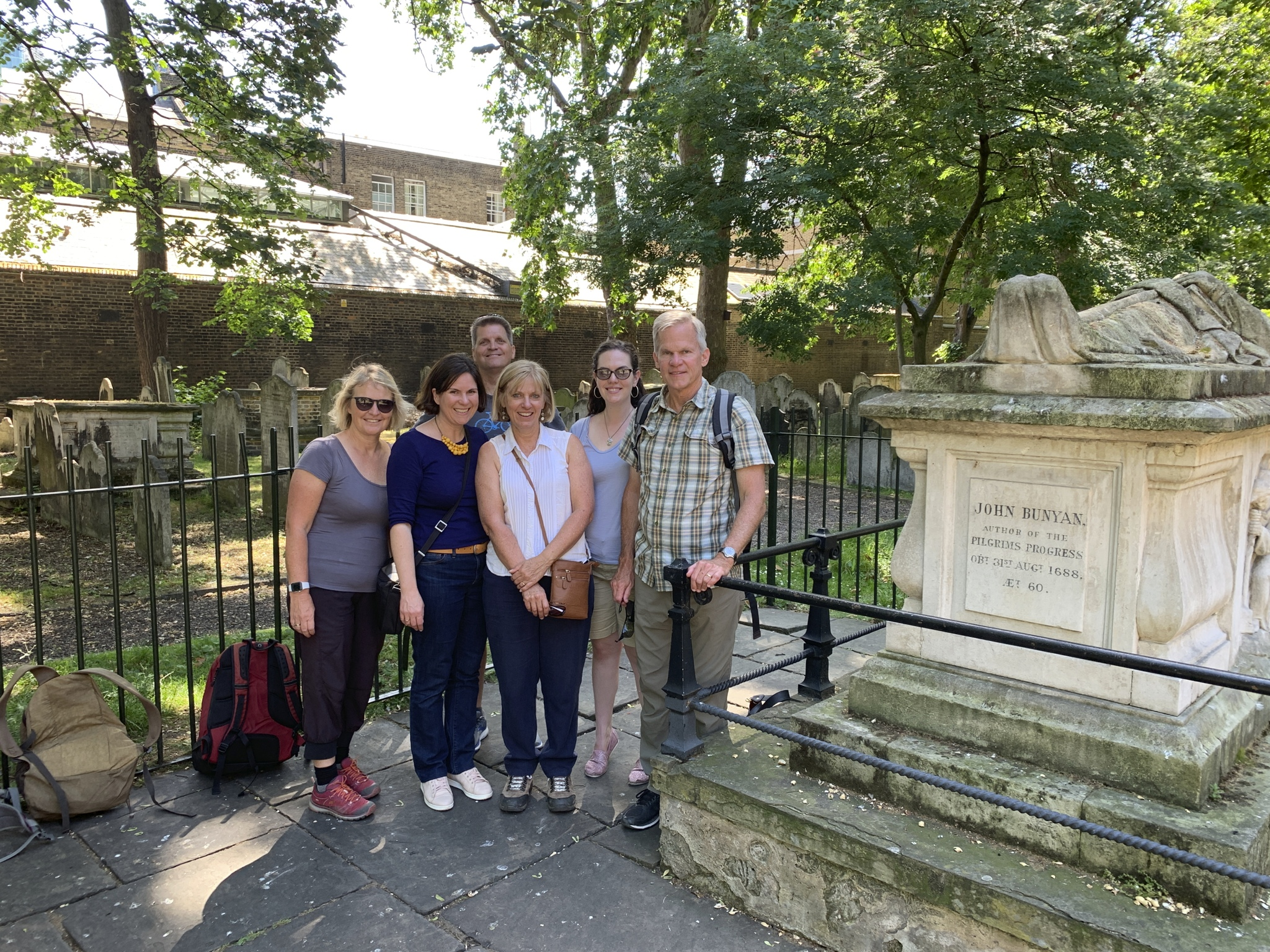 Walking Tour of Baptist Sites in London