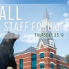 Register for Fall Staff Forum 2019!