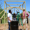 Beyond Baylor: Students and Faculty Create Greenhouse for Elementary School