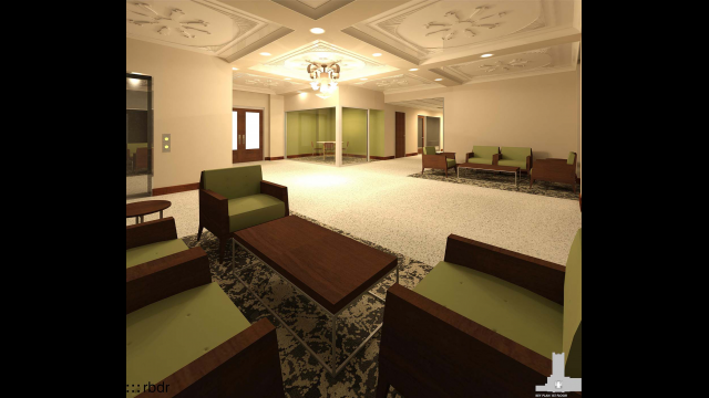 Full-Size Image: Tidwell First Floor Rendering