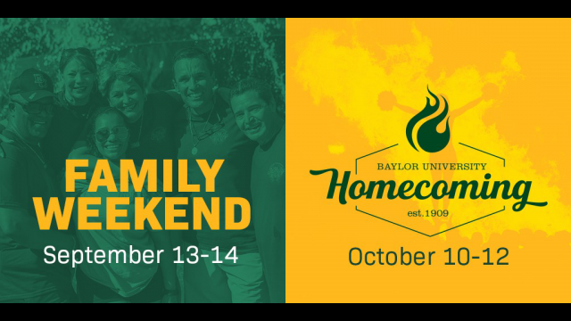 Family Weekend Homecoming 2019
