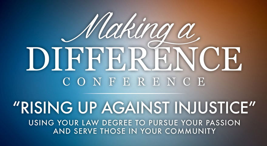 Making a Difference Conference: Rising Against Injustice