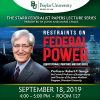 Professor Robert P. George to Speak at Baylor Law on the Constitution and Civic Virtue in an Environment of Partisanship and Incivility