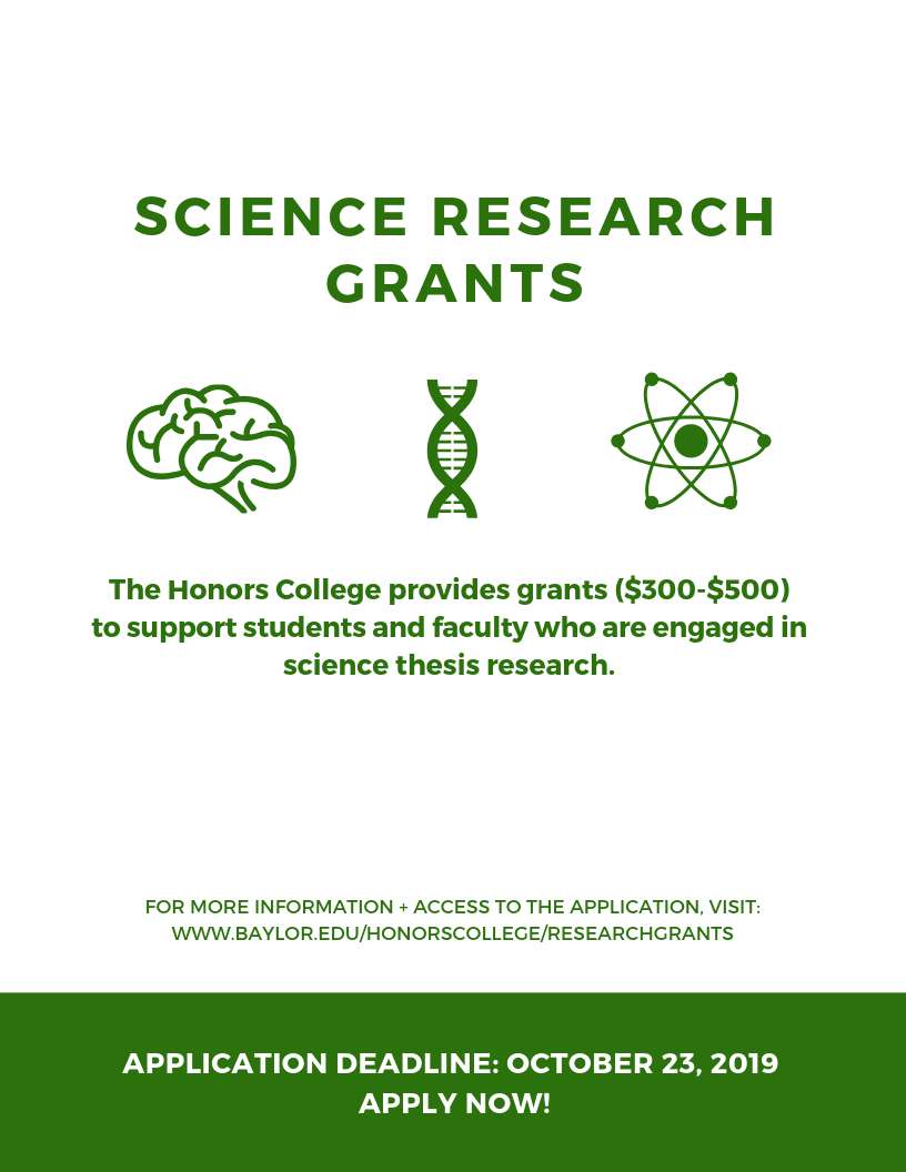 Science Research Grant
