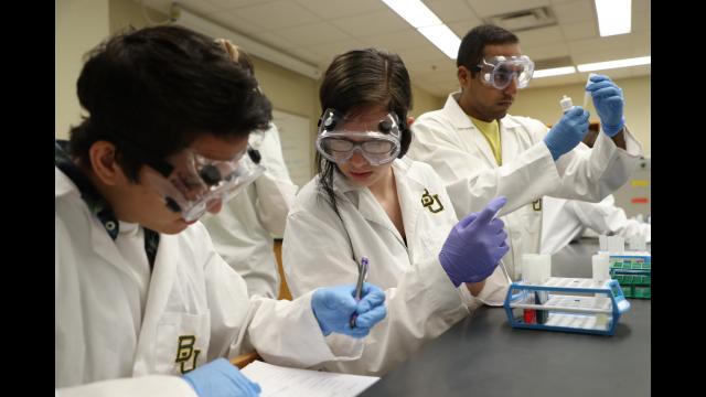 Undergraduate Research in Lab