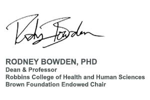 Rodney Bowden Signature