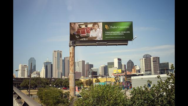 Full-Size Image: Dr. Sara Dolan I-30 West Digital Billboard