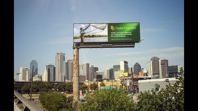 Full-Size Image: Dr. Cole Matson I-30 West Digital Billboard