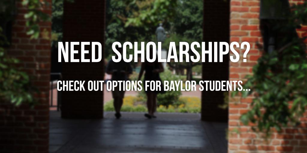 Need Scholarships