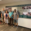 Department of Mathematics Installs Wall of Honor to Recognize Donors