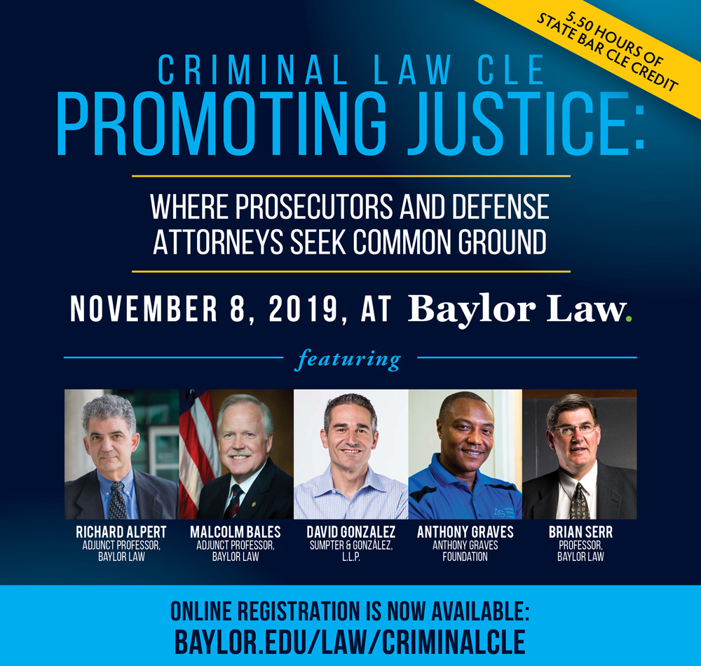 Banner image for Criminal Law CLE