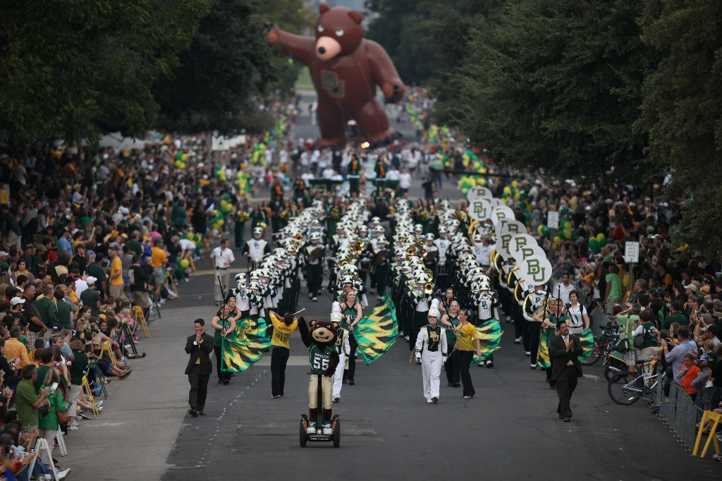 Image result for baylor homecoming
