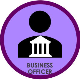 graphical representation of Business Officer