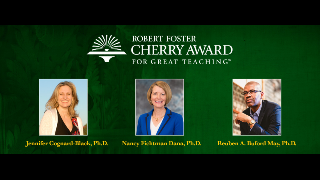 Finalists for Cherry Award for Great Teaching to Lecture on Baylor's Campus