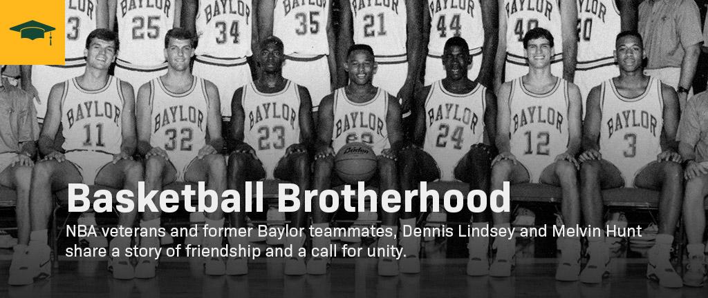 1988 Baylor men's basketball team photo.