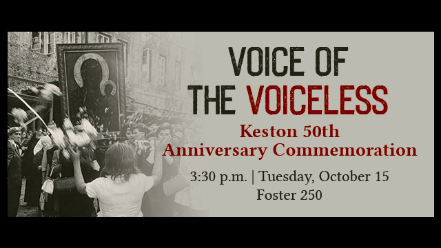 Keston Center 50th