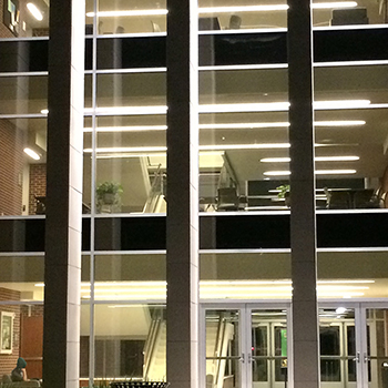 Marrs McLean Science at night