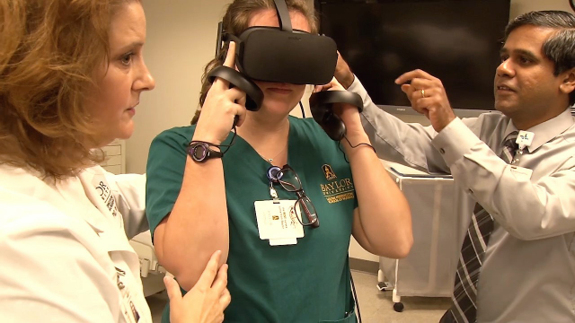 NIH Funding Awarded to Baylor Scott & White Research Institute and Baylor's Louise Herrington School of Nursing for Study of Nurse Virtual Reality Training