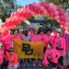 Students Participate in the Paint the Parkway Pink 5K Event